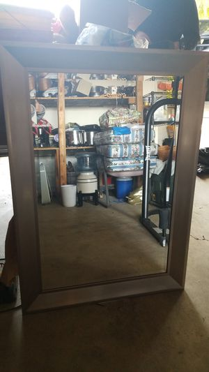 Silver frame mirror for Sale in Montclair, CA