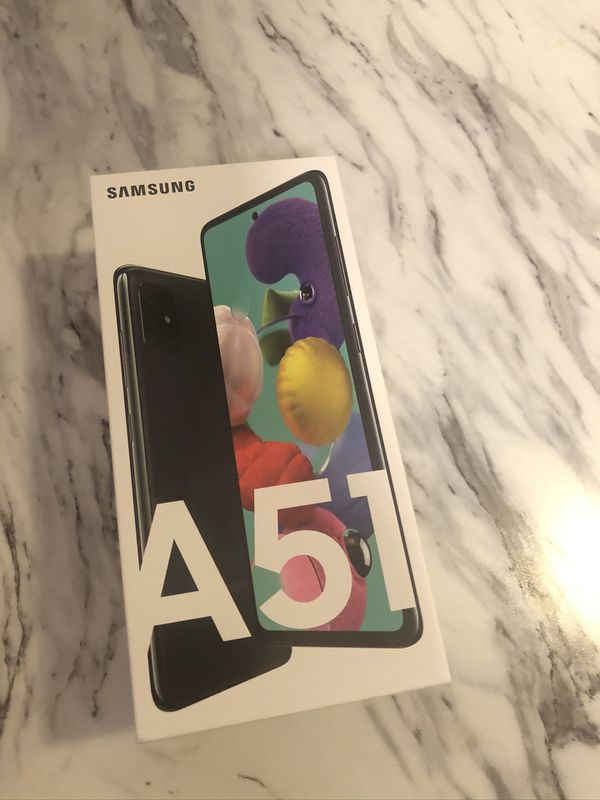 Open box Samsung A 51