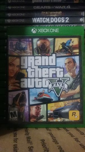 GTA5 for Xbox One for Sale in Decatur, GA