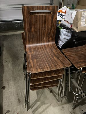 Wooden Chairs x7 Dining Chairs Great Quality Sturdy for Sale in Beaverton, OR
