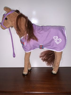 """18"""" doll baby horse and cat with other accessories for Sale in Midland, TX"""