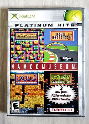 Namco Arcade Museum Original XBOX Game CIB Pac-Man Dig Dug Galaga for Sale in VLG WELLINGTN, FL