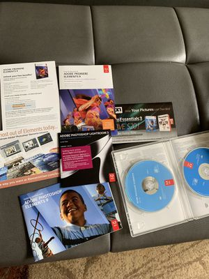 Adobe Photoshop Elements 9 for Sale in Raleigh, NC