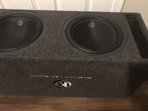 """Memphis Audio (MOJO) competition series SUBwoofers 12""""s for Sale in Elyria, OH"""