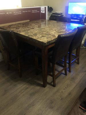 Marble Dining Room Set for Sale in Pembroke Pines, FL