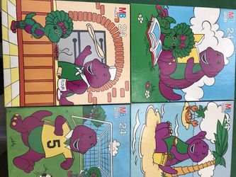 Four NEW vintage Barney Puzzles for Sale in Ontario,  CA