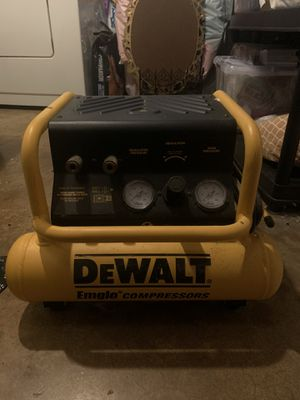 DEWALT D55143 Heavy-Duty Electric 3 Gallon Oil Free Hand Carry Compressor for Sale in Springfield, VA