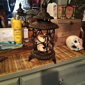 Solid iron candle holder for Sale in Wichita, KS