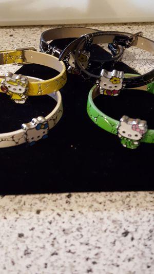 Hello Kitty adjustable bracelets for Sale in Allen Park, MI