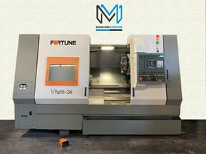 FORTUNE VICTOR VTURN-36 CNC TURNING CENTER for Sale in Chino, CA