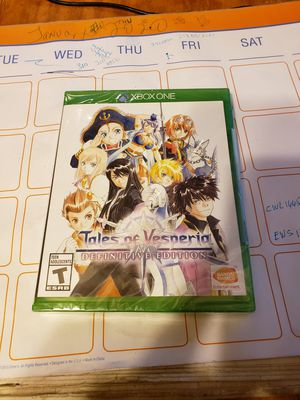 Tales of Vesperia Xbox One for Sale in Los Angeles, CA
