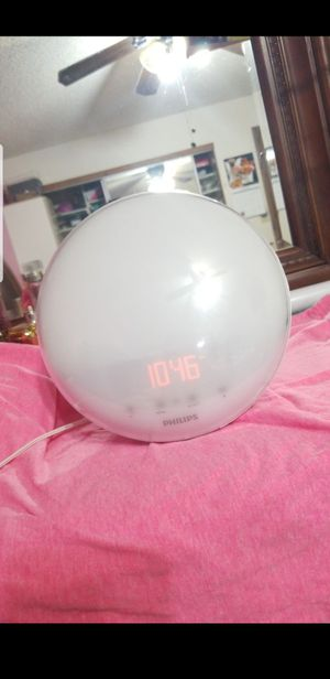 PHILLIPS CLOCK WITH STIMULATING LIGHT!!!!! for Sale in Phoenix, AZ