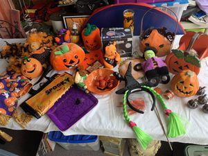 Some of my Halloween Decorations for Sale in Huntington Beach, CA