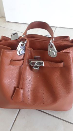 HERMES Brown Leather Bag for Sale in North Bay Village, FL