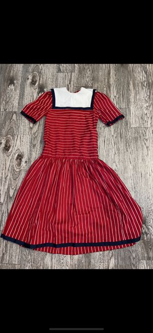 Classic American Vintage Sailor Dress. Please check measurements to ensure a good fit ;) for Sale in Fort Worth, TX