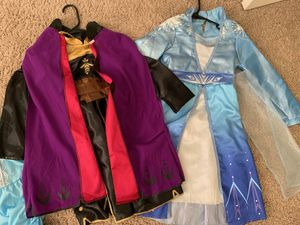 Girls Halloween Costumes Frozen Incredibles Toy Story for Sale in Tampa, FL