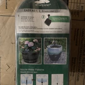 SmartPond Container Fountain Kit for Sale in Romeoville, IL