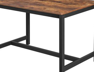 Table Benches, Pair of 2, Industrial Style Indoor Benches, 42.5 x 12.8 x 19.7 Inches, Durable Metal Frame, for Kitchen, Dining Room, Living Room, Rust for Sale in Chino,  CA