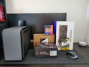 Computer / Desktop PC - Ultra small - Ultra cooling - Intel i7 / M.2 NVME SSD 500GB / 16GB RAM/ AIO for Sale in Chelsea, MA