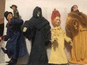 Disney's A Christmas Carol figurines for Sale in Woodinville, WA