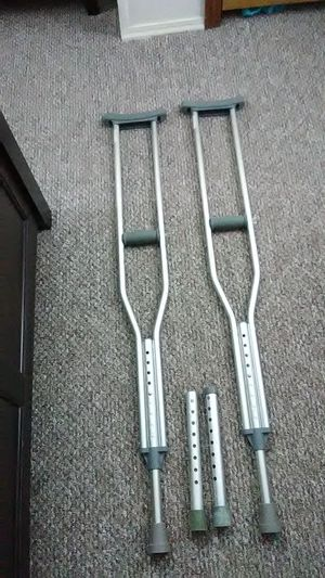 Justable crutches for Sale in Auburn, IN