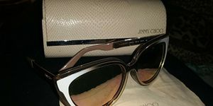 JIMMY CHOO Rose Gold Cat Eye Sunglasses CINDY/S 01RX 57CINDY/S 01RX 57 for Sale in Coldwater, MI