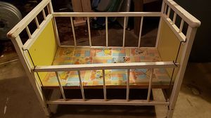 Antique baby doll crib for Sale in Martinsburg, WV