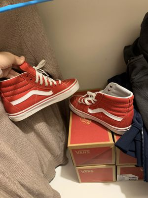 red high tops vans . for Sale in Dayton, OH
