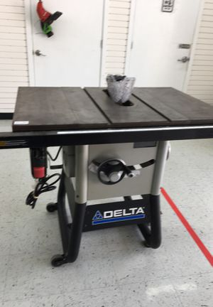 Table saw delta brand for Sale in Alamo, TX