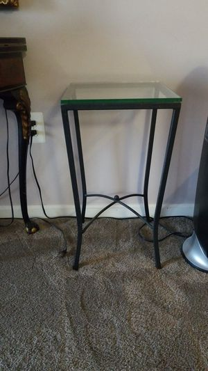 Glass Stand with metal frame for Sale in Alexandria, VA