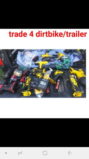 Lots of tools will trade for dirt bike or trailer for Sale in San Bernardino, CA