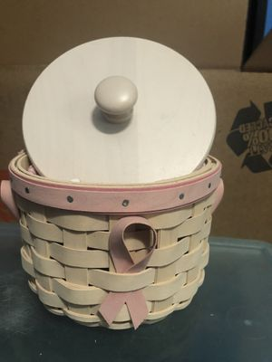 Longaberger 2006 Breast Cancer Basket for Sale in Leesburg, FL