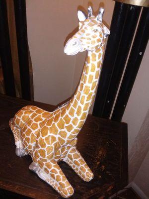 Giraffe porcelain statue for Sale in Columbus, OH