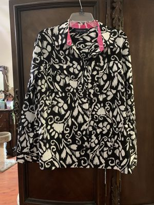 Women's Jones New York, XL, Jacket/Blouse for Sale in Brazoria, TX
