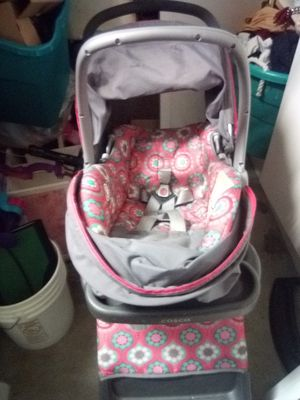 Cosco stroller with car seat $25 or best offer. Moving everything must go!! for Sale in Las Vegas, NV