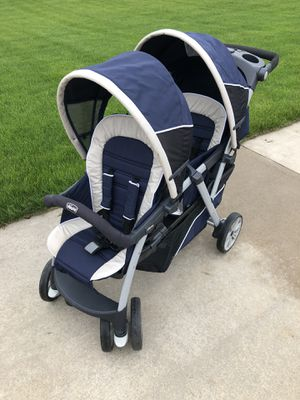 Chicco Cortina Together Two passenger Stroller for Sale in Larsen, WI