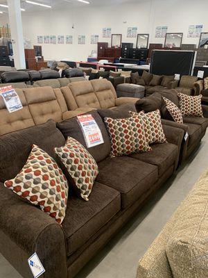 Albany Mocha Sofa & Loveseat only $699! ✅ for Sale in Mesa, AZ