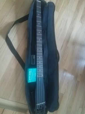 ANYGIG BASS GUITAR + VOX BASS HEADPHOME AMP for Sale in Attleboro, MA
