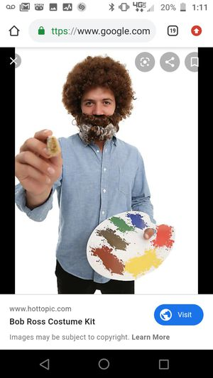 Bob Ross *new* Halloween Costume for Sale in Dunwoody, GA