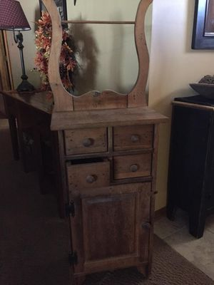 Hand Made Wooden Storage Cabinet for Sale in Omaha, NE