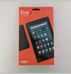 "All-New Amazon Fire 7 Tablet (7"" display, 16 GB, 9th generation) - Black (opened box) never used for Sale in Tolleson, AZ"