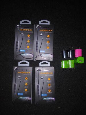 Audioflex Wireless Earbuds/USB Power Adapters for Sale in Kent, WA