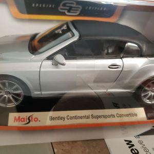 Die-cast Bentley Continental Supersport convertible for Sale in Alexandria, VA
