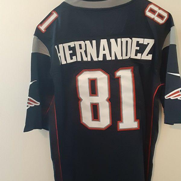 Aaron hernandez patriots jersey