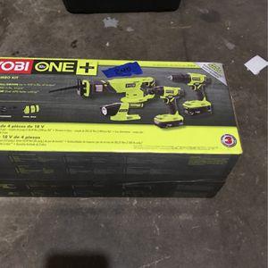 Ryobi 18 V 1+ 4 piece combo kit for Sale in Tacoma, WA