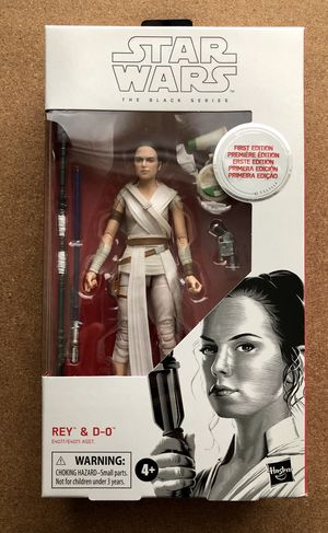 Star Wars Black Series First Edition Rey and D-0 for Sale in Chicago, IL