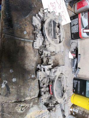 Used, 2 carburetors (Edelbrock,Carter AFB Competit