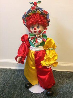 Porcelain clown doll for Sale in Holladay, UT