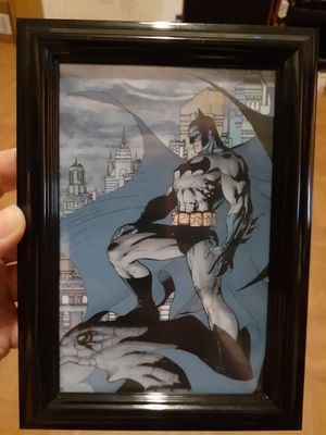 BatMan 4x6 Pic + Frame for Sale in New York, NY