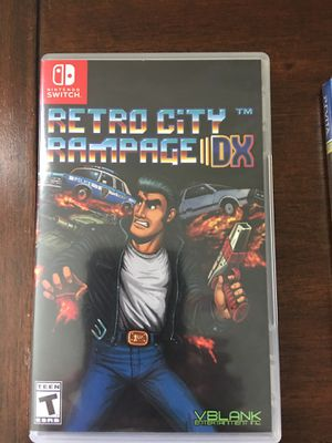 Retro City Rampage:DX Nintendo Switch Used Never Played for Sale in Shoreline, WA